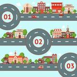 City infographics set Stock Photo