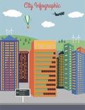 City infographics Royalty Free Stock Photo