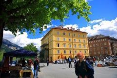 City Of The Innsbruck,Austria Royalty Free Stock Photo