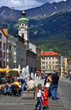 City Of The Innsbruck,Austria Stock Photo