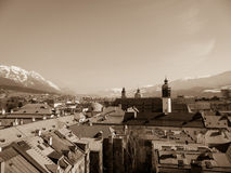 City of Innsbruck Royalty Free Stock Image