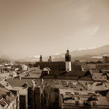 City of Innsbruck Stock Photography