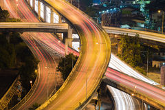 City interchange overpass highway Royalty Free Stock Photography
