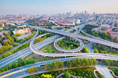 City interchange in tianjin Royalty Free Stock Photography