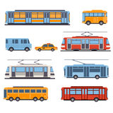 City and Intercity Transportation royalty free illustration