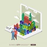 City internet Stock Photos