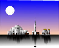 City, Islamic, Arabic, Mosque Royalty Free Stock Image