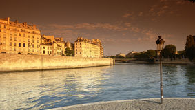 City island in paris Royalty Free Stock Photos