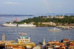 Istanbul Cityscape Stock Photos