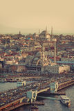 City of Istanbul in Turke Royalty Free Stock Photography