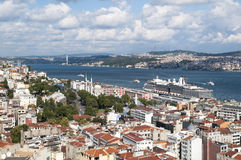 City of Istanbul in Turkey Stock Images