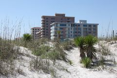 City of jacksonville beach in florida. Jacksonville Beach is a coastal resort city in Duval County, Florida, United States stock photos