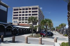 City of jacksonville beach in florida. Jacksonville Beach is a coastal resort city in Duval County, Florida, United States royalty free stock images