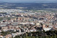 City of Jaen, Andalusia, Spain Royalty Free Stock Photography