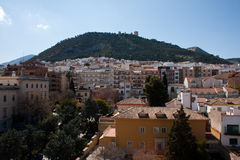 City of Jaen in southern Spain, Andalucia. Royalty Free Stock Image