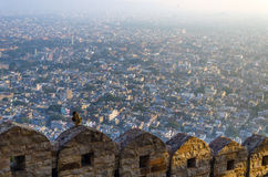 City of Jaipur, View from Nahargarh Fort Royalty Free Stock Image