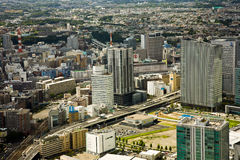 City of Japan Tokyo. A view on a city. Stock Images