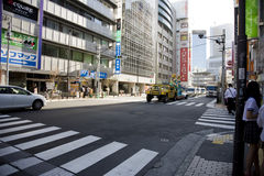 City of Japan Tokyo. A view on a city. Akihabara Royalty Free Stock Photography