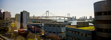 City of Japan Tokyo. A view on a city.Shinkansen Stock Photo