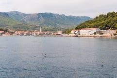City of Jelsa in Croatia Royalty Free Stock Image