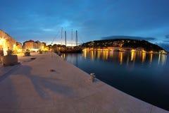 City Jelsa on island Hvar Royalty Free Stock Photos