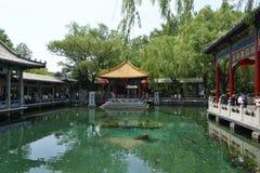 Baotu Spring in Jinan Royalty Free Stock Photo
