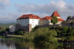 City Kadaň, Czech Republic Royalty Free Stock Photos