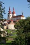 City Kadaň, Czech Republic Royalty Free Stock Image