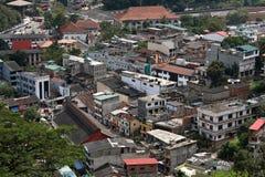 City of Kandy in Sri Lanka Stock Image