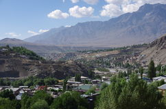 City of Kargil in Ladakh, India Royalty Free Stock Image