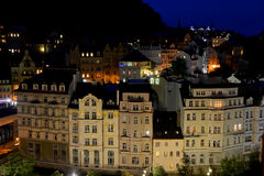 The city of Karlovy Vary Stock Images