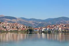 City Kastoria, Greece Royalty Free Stock Photo