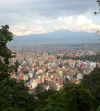 The city of Kathmandu Royalty Free Stock Image