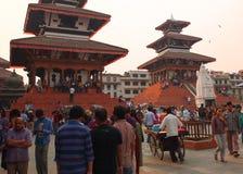 The city of Kathmandu, Nepal Stock Photography