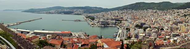City of Kavala Stock Photography