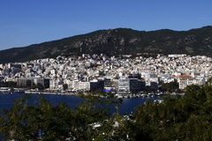 City of Kavala, Greece Royalty Free Stock Image