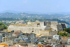 City of Kerkyra, aerial view Stock Image