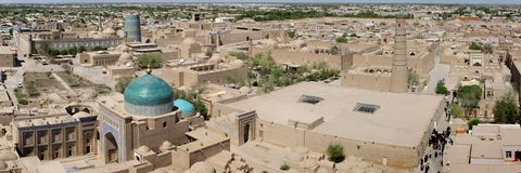 City of Khiva Royalty Free Stock Image