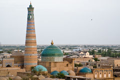 City of Khiva stock images