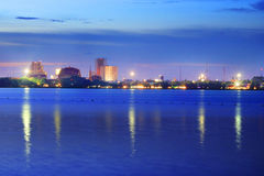 City of khonkaen Royalty Free Stock Photos