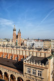 City of Krakow in Poland Stock Photos