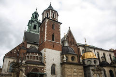 City of Krakow Poland. Wawel Cathedral Stock Photo