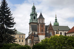 City of Krakow Poland. Wawel Cathedral Royalty Free Stock Photos