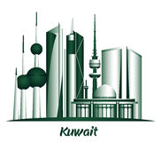 City of Kuwait Famous Buildings Stock Photos
