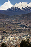 City of La Paz - Bolivia Stock Photo