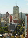 CITY OF LA PLATA 44 STREET BUENOS AIRES ARGENTINA Royalty Free Stock Photography