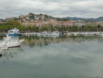 City of La Spezia. Seen from the port Stock Photos