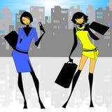 City Ladies Stock Images