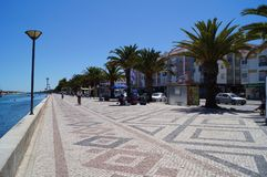 City from Lagos to Portugal - Europe. City from Lagos to Portugal Stock Photo