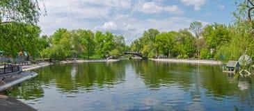 City lake Royalty Free Stock Photos